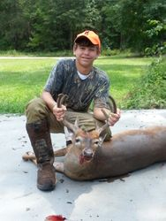 176 lb. 8 pt. buck on first day